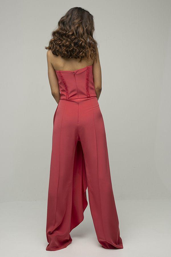 Inunez mono rosa palabra de honor pantalon 3