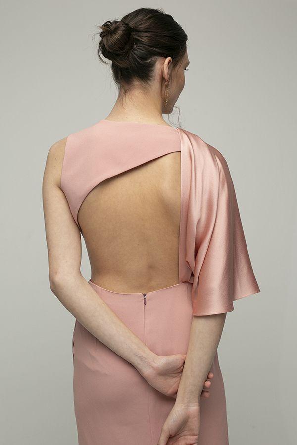 Inunez vestido cutout cintura rosa midi 4